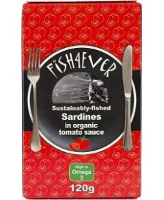 Fish 4 Ever Sardines in Tomato Sauce 120g