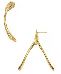 Alexandra Koumba Wishbone Drop Earrings