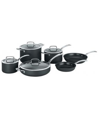 Cuisinart Chef iA+ Cookware Set 6 Piece Hard Anodised