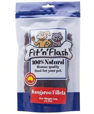FIT 'N FLASH KANGAROO FILLETS 60GM