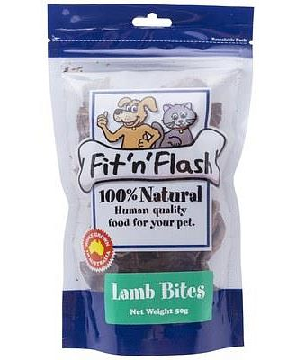 FIT 'N' FLASH LAMB FILLETS 50GM