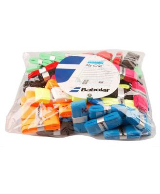 Babolat My Grip Overgrip Refill Bag - 70 Pack - Assorted Colours