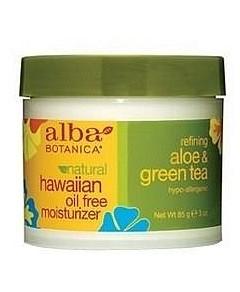 Alba Natural Hawaiian Oil Free Moisturizer Refining Aloe & Green Tea 85g