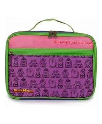 AllerMates Allergy Alert Lunch Bag Purple