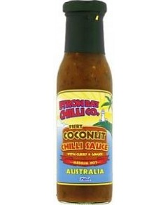 Byron Bay Chilli Fiery Coconut Chilli Sauce 250ml