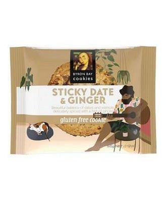 Byron Bay Gluten Free Sticky Date & Ginger 60g x 12