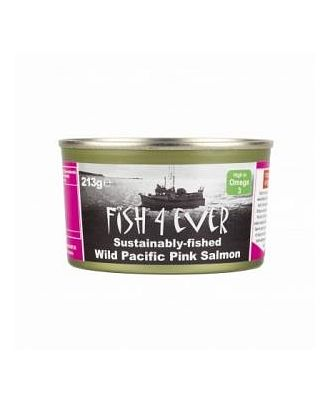 Fish 4 Ever Pink Salmon (Bones) 213g
