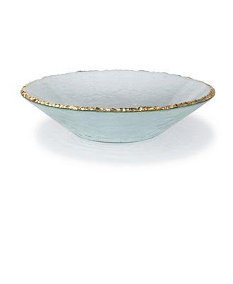 Annieglass Edgey Round Bowl