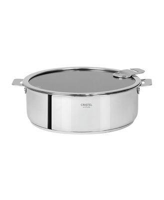 Cristel Casteline Tech 4-Quart Nonstick Saute Pan with Lid Bloomingdale's Exclusive