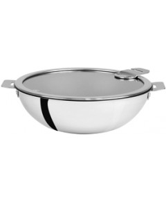 Cristel Casteline Tech 4-Quart Nonstick Wok with Lid Bloomingdale's Exclusive