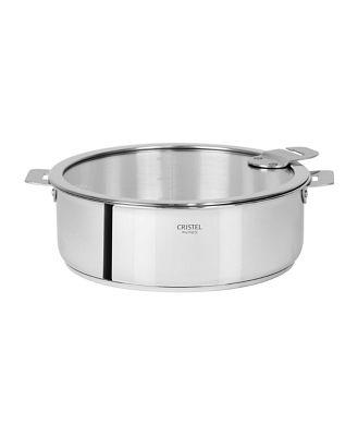 Cristel Casteline Tech 4-Quart Saute Pan with Lid Bloomingdale's Exclusive