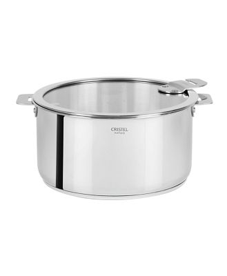 Cristel Casteline Tech 7.5-Quart Saucepan with Lid - Bloomingdale's Exclusive