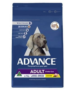 Advance Large Breed Adult Dog Food 15kg Chicken