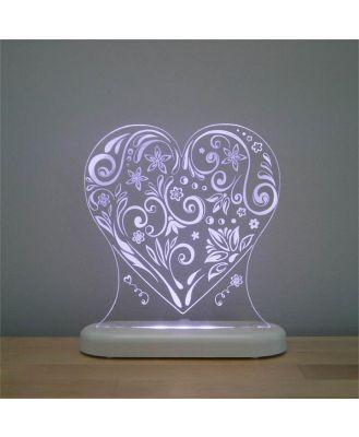 Aloka -  LED Sleepy Light - Loveheart