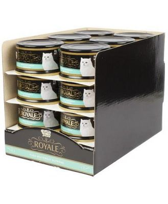 FANCY FEAST ROYALE TUNA AND WHITEMEAT SUPREME 85G (X24)