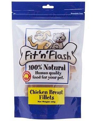 FIT 'N' FLASH CHICKEN BREAST FILLETS 100GM