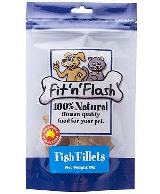 FIT 'N' FLASH FISH FILLETS 50GM