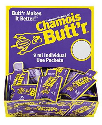 Chamois Butt'r Original - Non-Greasy Cycling Lubricant & Chamois Cream - 75 Pack Of 9ml Sachet