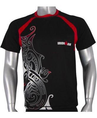 Ironman Cool Max Unisex Running Shirt - Black/Red