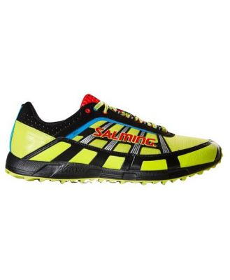 Salming Trail 2 - Mens Trail Running Shoes - Yellow/Black